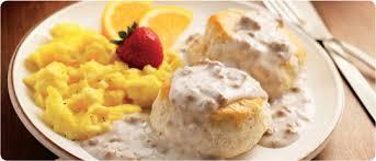 biscuitsgravywithfruitandeggs