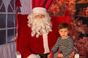 Santa and Kid 2017