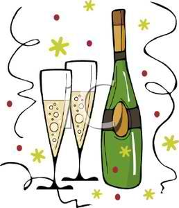 ChampagneNYEclipart