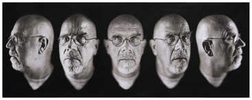 Chuck Close Tapestries_Dallas Saunders