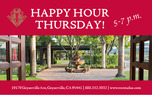 Trentadue_Happy Hour Thursday Flier 1