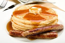 Pancakes and Sausage
