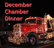 DEC DINNER Lighted fire truck crop